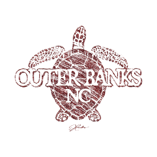 Outer Banks, NC, Sea Turtle