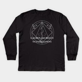 Lauren Jauregui Kids Long Sleeve T-Shirts   TeePublic