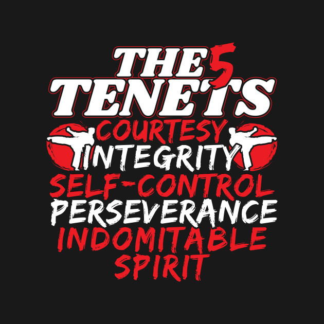 5 tenants of tkd