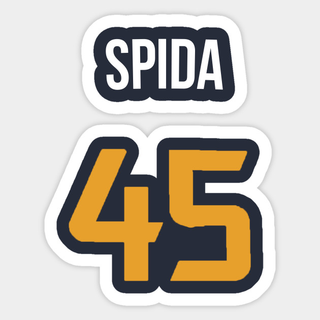aeae6b842 Donovan Mitchell 'Spida' Nickname Jersey - Utah Jazz - Nba - Sticker ...
