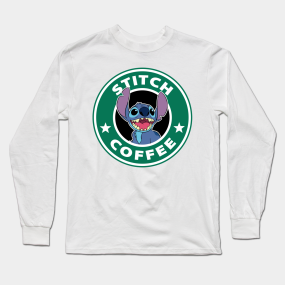 3f72519d390 Stitch Coffee Long Sleeve T-Shirt