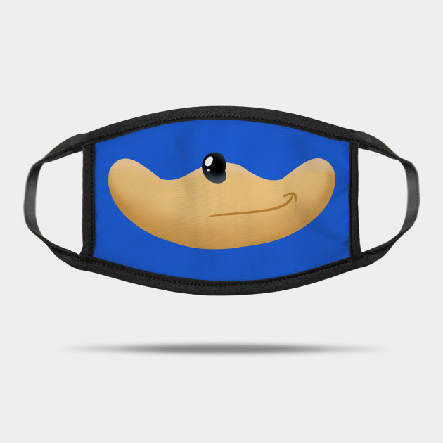 Sonic The Hedgehog Face Mask Sonic Mask Teepublic