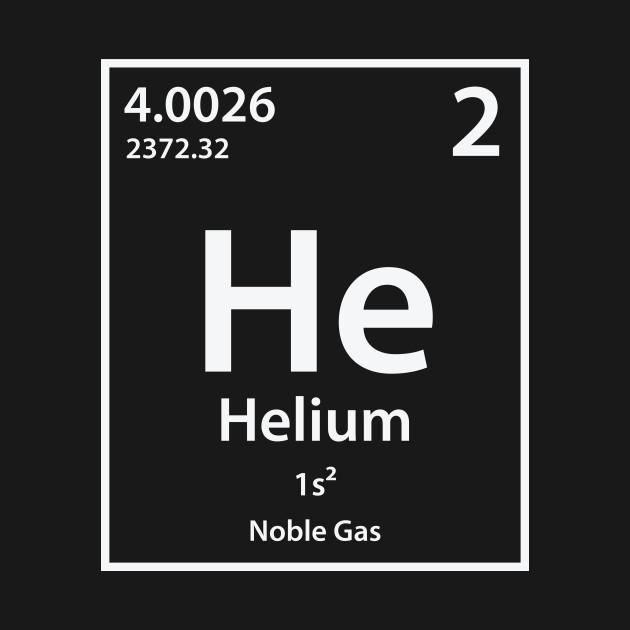 Helium Element Helium T Shirt Teepublic