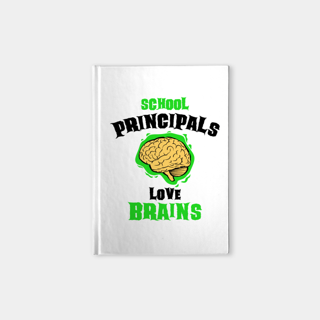 School Principals Teachers Love Brains Funny Halloween Gift