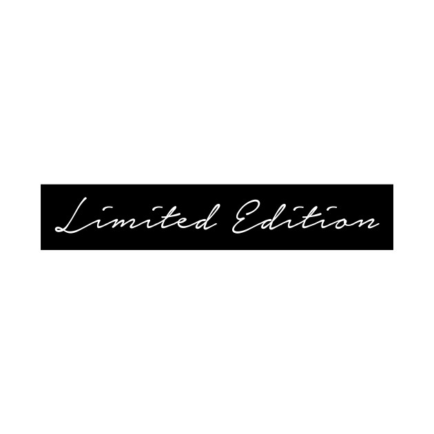 Limited Edition Girl in Hand Written Script