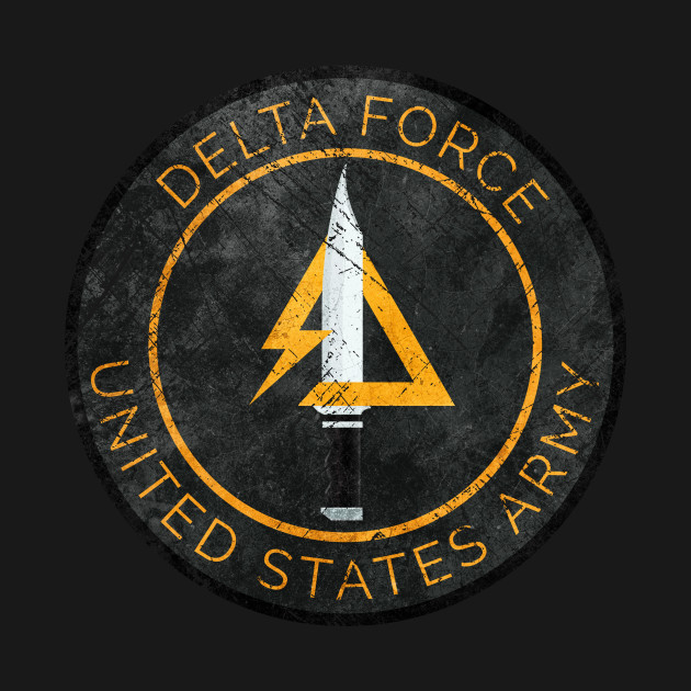 Delta Force Vintage Insignia Delta Force T Shirt Teepublic