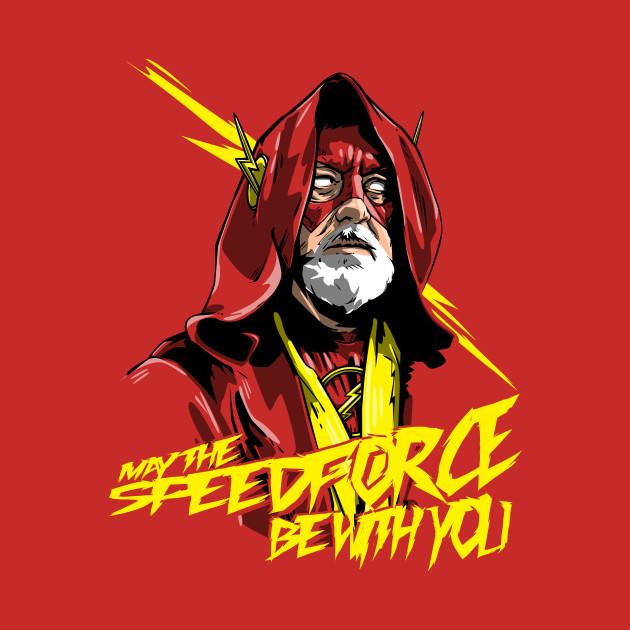 Use the speedforce use the speedforce