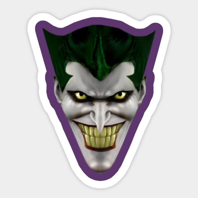 Joker Batman Animated Series Realistic Face