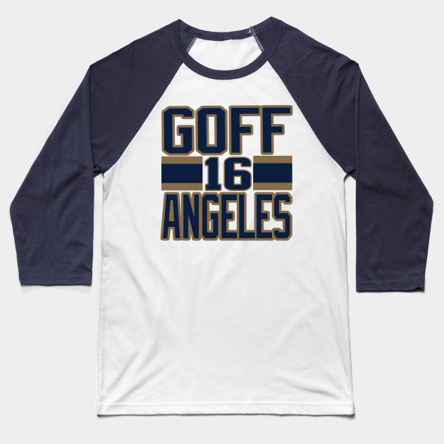 Los Angeles LYFE Goff Angeles! Baseball T-Shirt