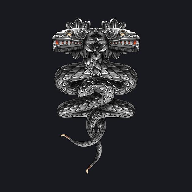 Quetzalcoatl ( flying snake of Aztec )