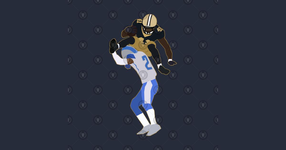 best service e9ec8 bc6a7 Alvin Kamara Hurdle - New Orleans Saints by xavierjfong