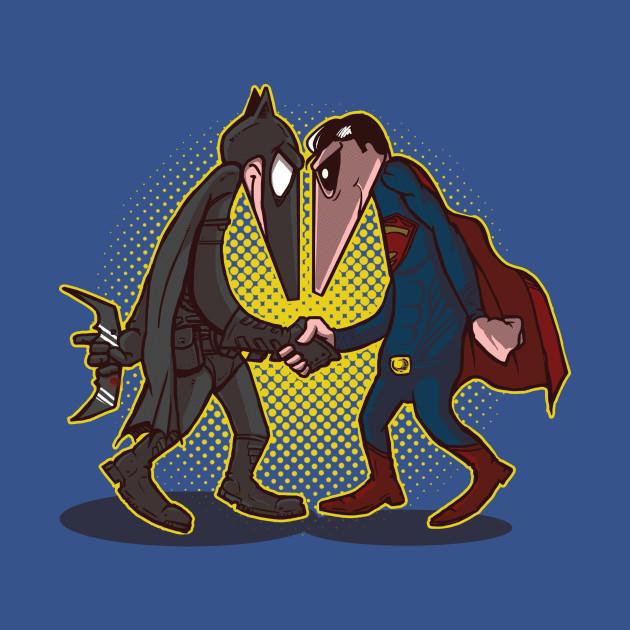 Hero Vs Hero T-Shirt