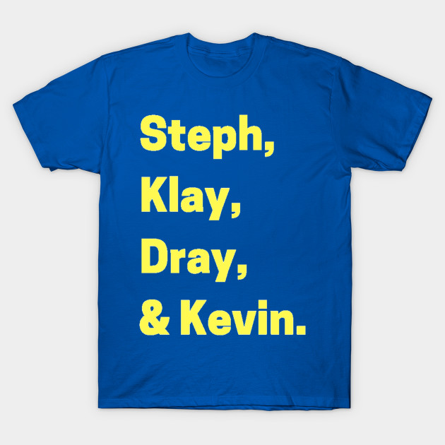 Golden State Warriors Name Shirt Golden State Warriors