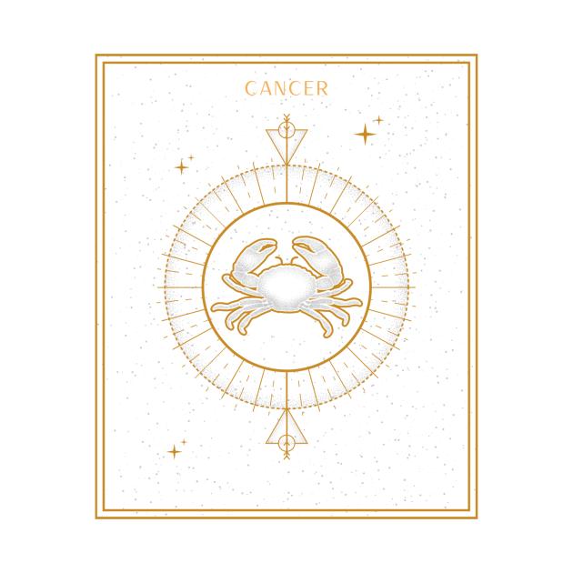 Cancer   Astrology Zodiac Sign Design