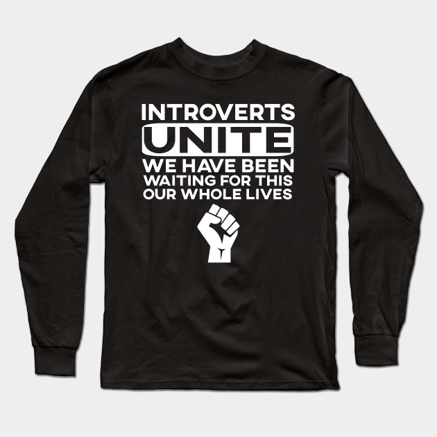 Amazon.com: Introverts Unite Separately Funny Adult T-Shirt Tee: Clothing