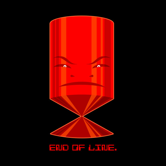 End Of Line.
