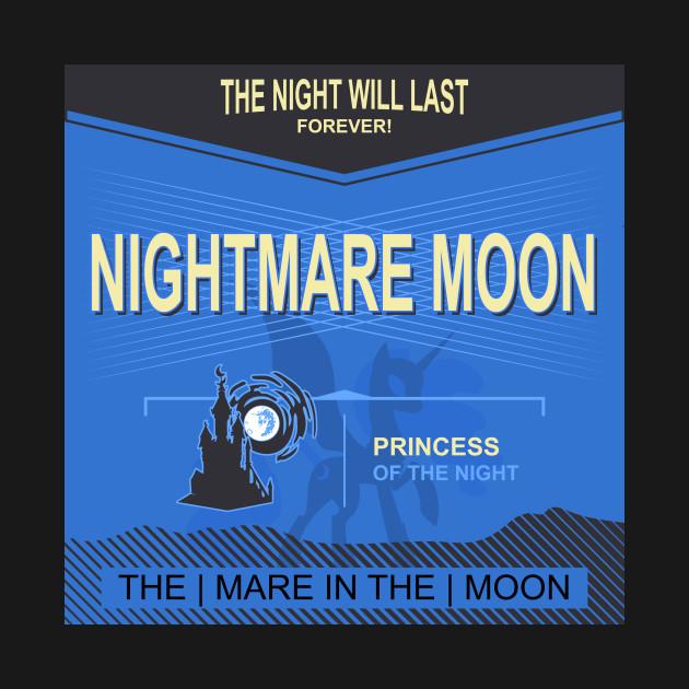 Nightmare Moon Label