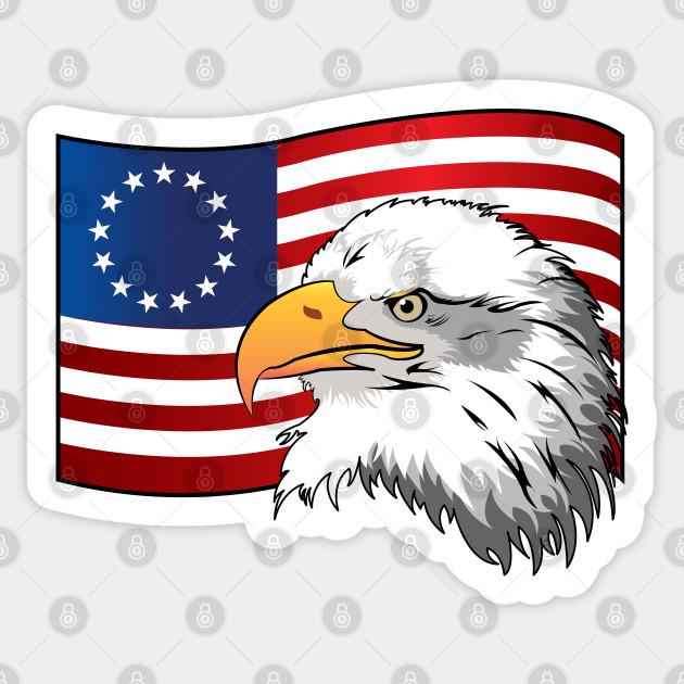 Image: Flag Raising | 4th of July Clip Art | Christart.com