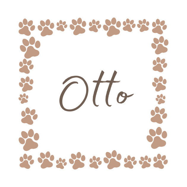 Pet name tag - Otto