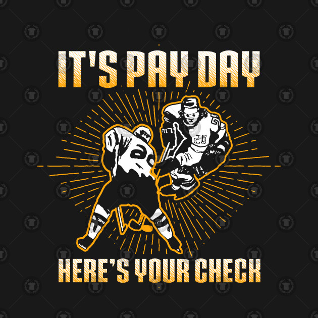 It's Payday!  Here's your check!