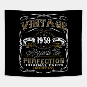 60th Birthday Gift For Him Tapestries