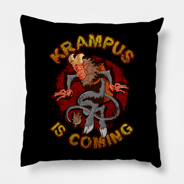 Krampus Is Coming Christmas Humor Funny