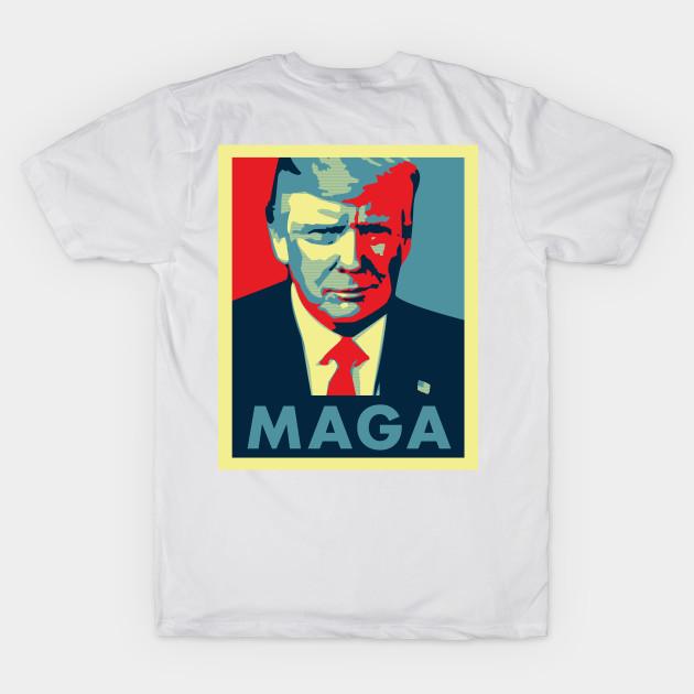 ab13f2787a1 Make America Great Again - Trump Make America Great Again - T-Shirt ...
