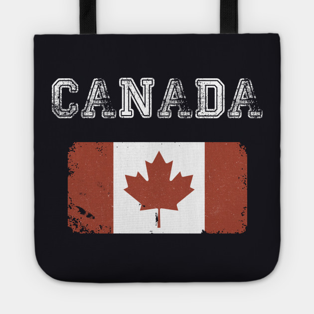Vintage Canada Flag Canada Day Vintage Style
