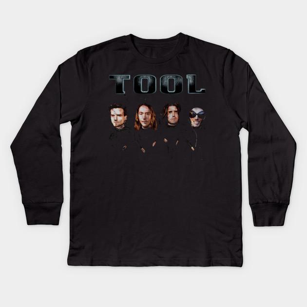 fd4d2f8e tool band - Music - Kids Long Sleeve T-Shirt   TeePublic