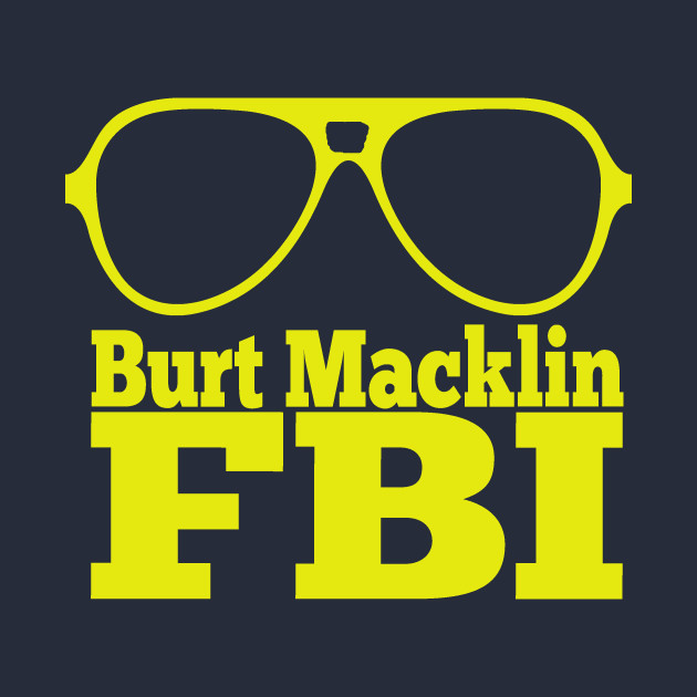 Parks And Recreation - Burt Macklin FBI