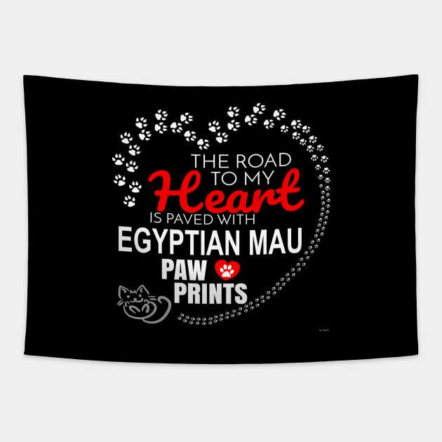 My Egyptian Mau Paw Prints - Gift For Egyptian Mau Parent