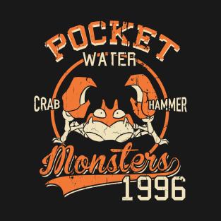 Crab Hammer t-shirts