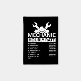 Mechanic Funny Notebooks   TeePublic