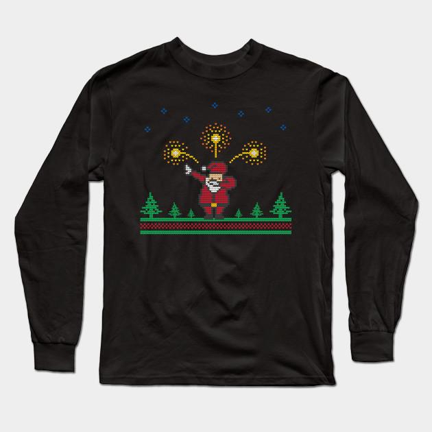 aa0f6bb1 Dabbing Santa | Ugly Sweater | Christmas | Funny | Gift Long Sleeve T-Shirt