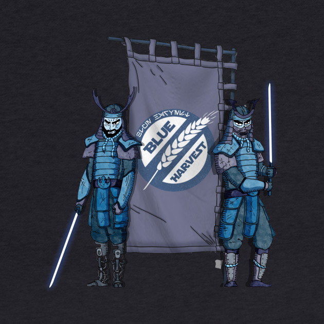 New Blue Harvest Samurai!