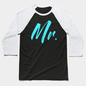 fe7b7942b4 Mr. Matching Couple Wedding T-Shirt | Goes with Mrs. Baseball T-Shirt
