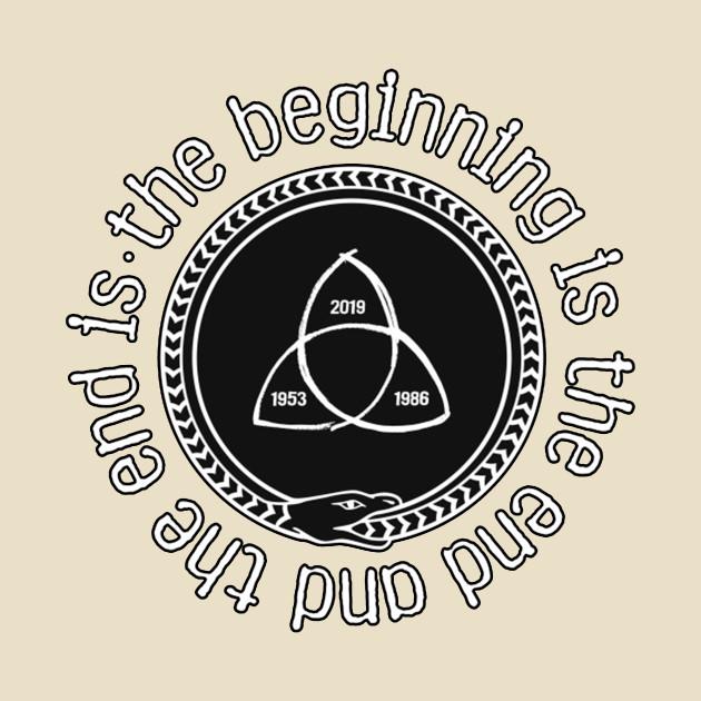 Dark German Netflix Series Design - The Beginning is the end and The End is The Beginning