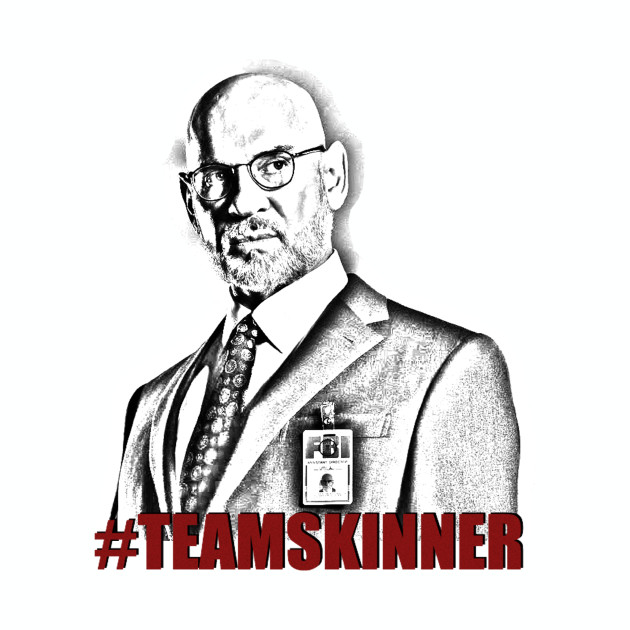 The X-Files Walter Skinner Sketch