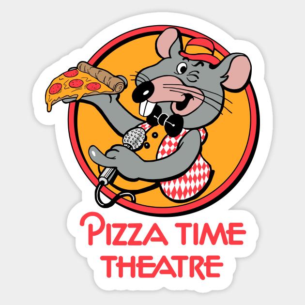 Pizza Time - Chuck E Cheese - Adesivo | TeePublic IT