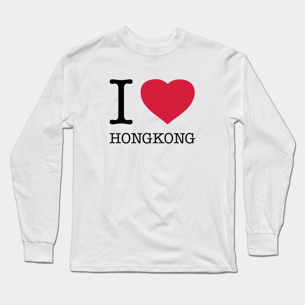 I Love Heart Hong Kong T-Shirt