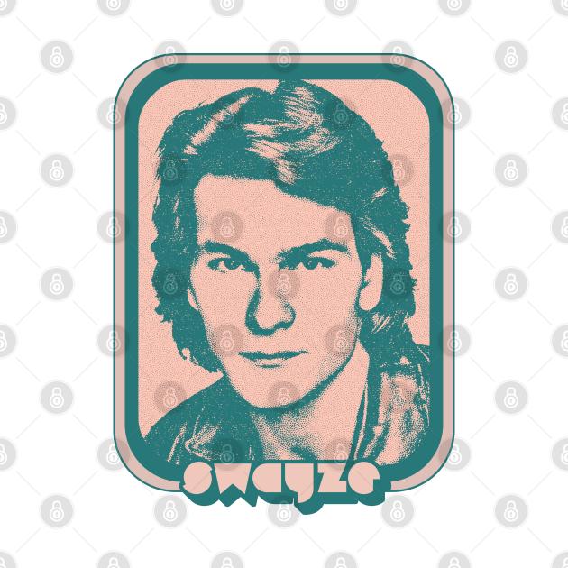 Patrick Swayze / Retro 80s Fan Aesthetic Design