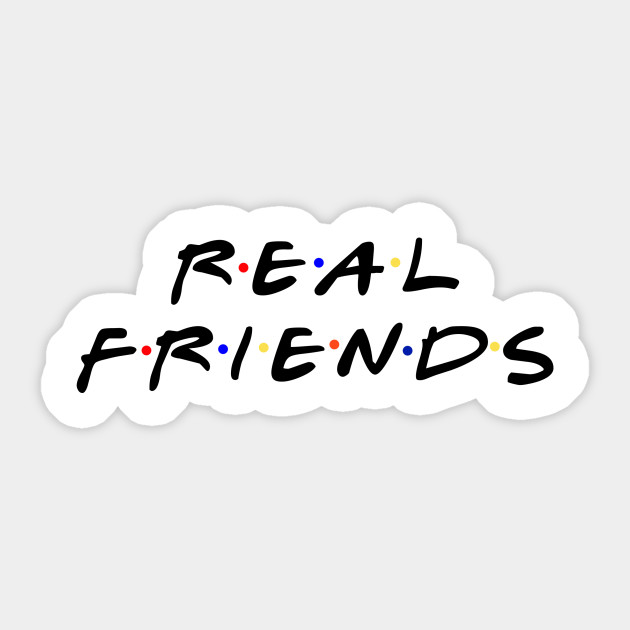 Real Friends - Real Friends - Pegatina