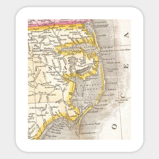 Outer Banks Nc Map on
