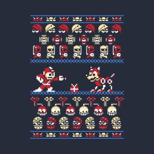 Christmas man - Megaman Ugly Sweater, Christmas Sweater & Holiday Sweater t-shirts