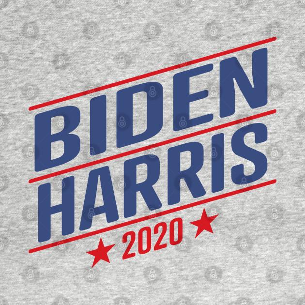 Joe Biden 2020 And Kamala Harris On The One Ticket Biden Harris 2020 T Shirt Teepublic