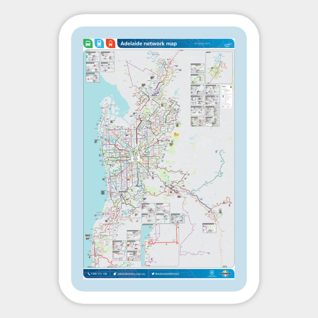 Map Of Adelaide Australia.Adelaide Australia Bus Rail Tram Map Hd