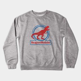 a8455cf55 T Rex Parody Crewneck Sweatshirts   TeePublic