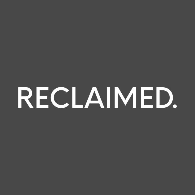 Reclaimed.