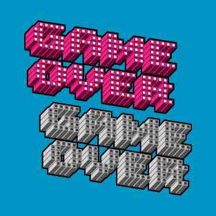 Game Over Pixel t-shirts