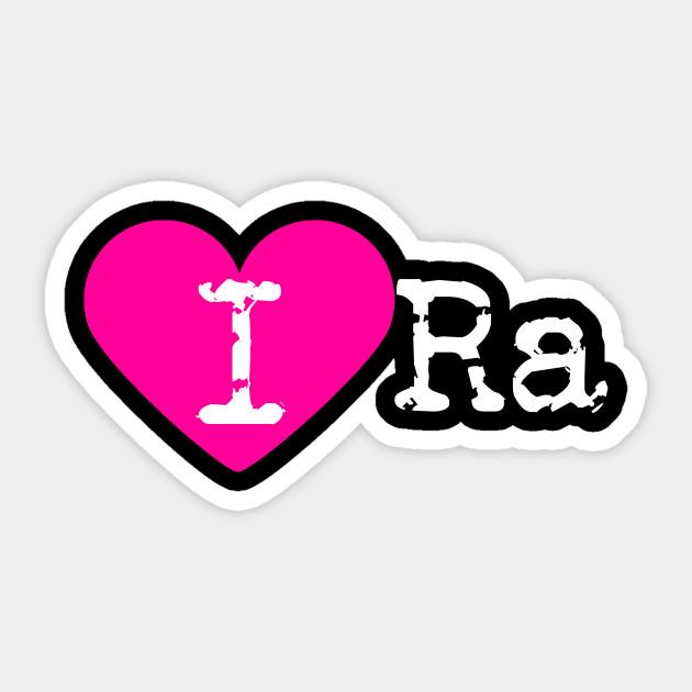 I Heart Ra Love Ra Egyptian God Sticker Teepublic